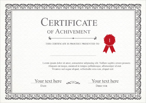 12 sample blank gift certificate templates sample