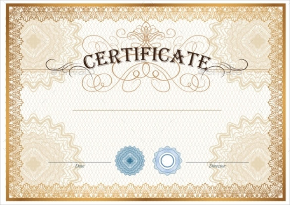 13 Sample Blank Gift Certificate Templates Sample Psd Word Ai