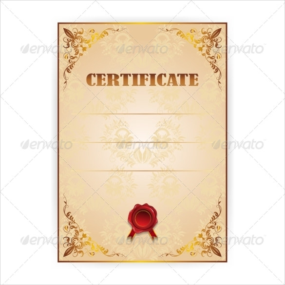 blank gift certificate template sample