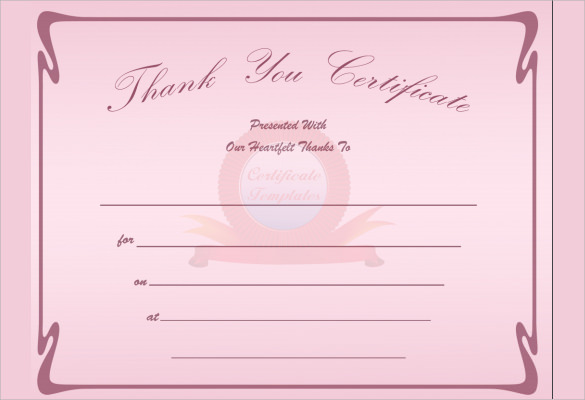 Free printable gift certificate templates search results for Editable certificate template
