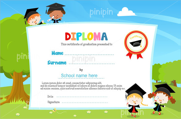 sample certificate of appreciation download