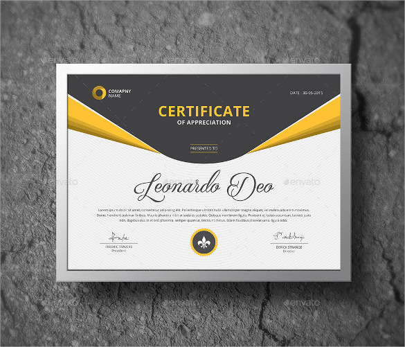 certificate of completion template print