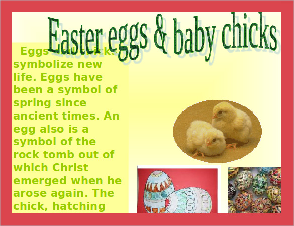 easter powerpoint example