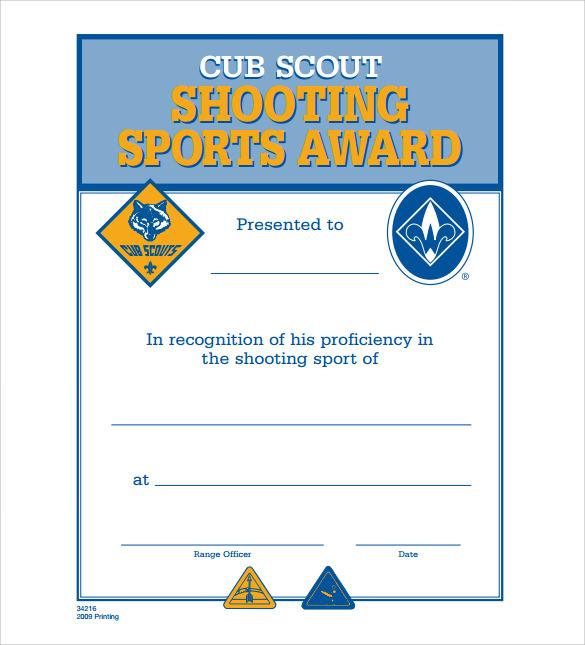 Sports Certificate Template Roho4senses
