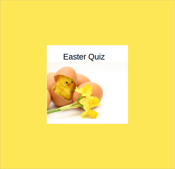 sample easter powerpoint