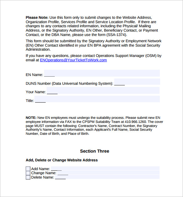 Blanket Purchase Agreement   Samples  Examples  Format
