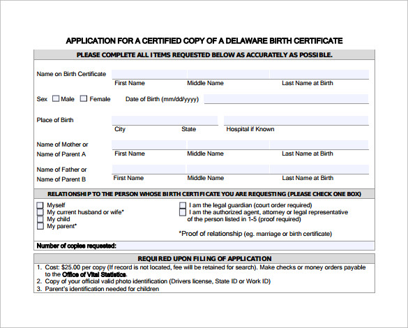 12 Best Birth Certificate Templates to Download | Sample Templates
