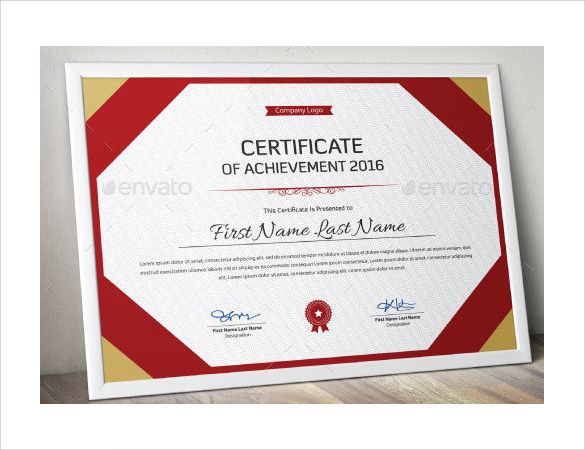 14 Printable Certificate Templates to Download | Sample ...