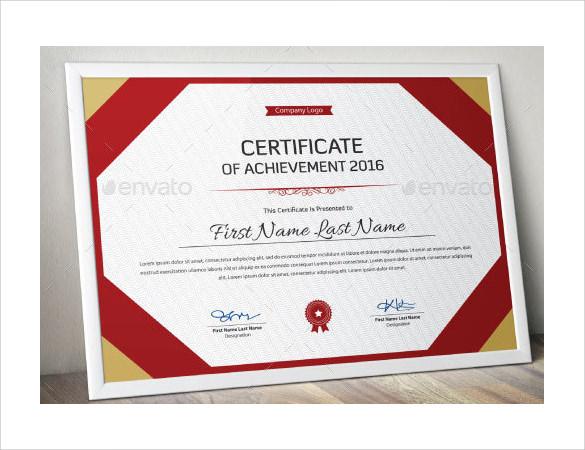 certificate of achievement1