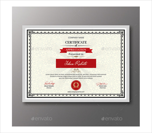 10 amazing congratulations certificates to download