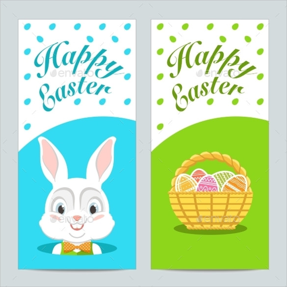 vector eps easter brochure template