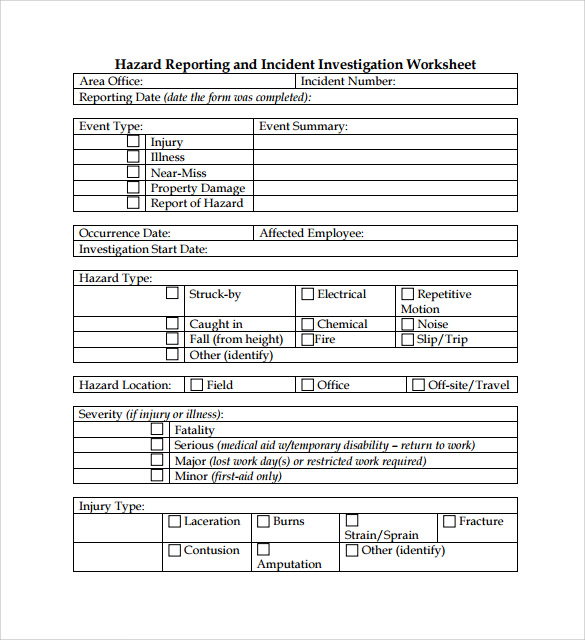 Sample Safety Manual Template 9 Free Documents in PDF – It Manual Templates to Download