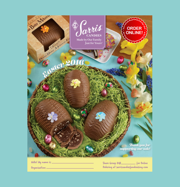 easter brochure pdf template free download