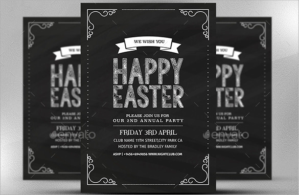 sample easter invitations template2
