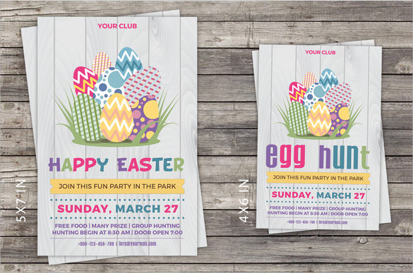 printable easter invitations template