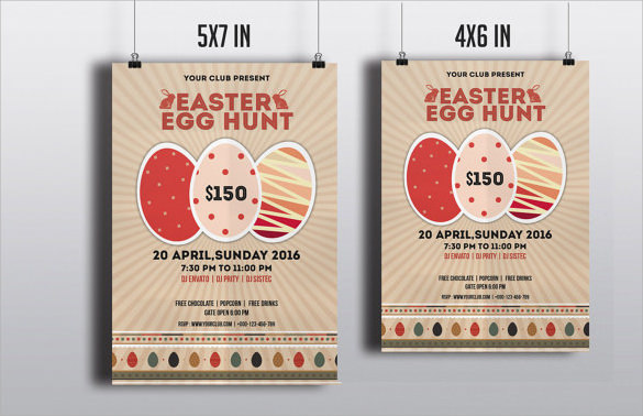 easter invitation template printable