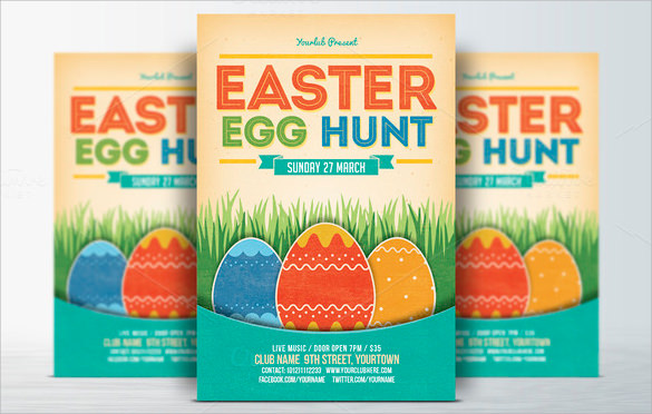 sample easter egg hunt invitation