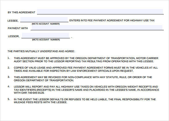 basic payment agreement1