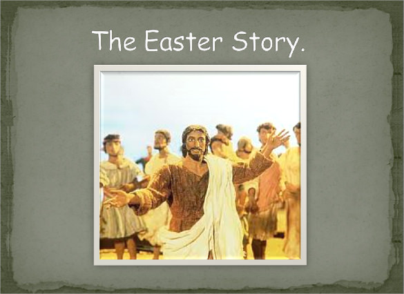 easter powerpoint template ppt