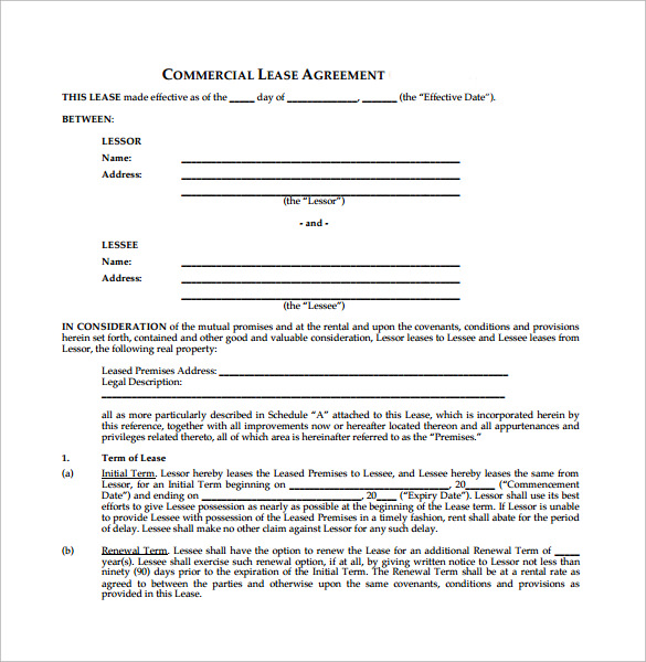 net lease agreement template 8 download free documents in pdf word
