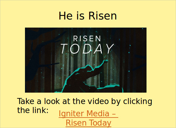easter powerpoint template design