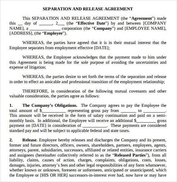 Business separation agreement template akersart business separation thecheapjerseys Gallery