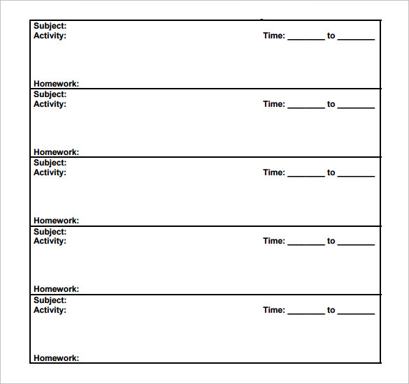 Sample Daily Lesson Plan Documents In PDF - Lesson plan templates pdf