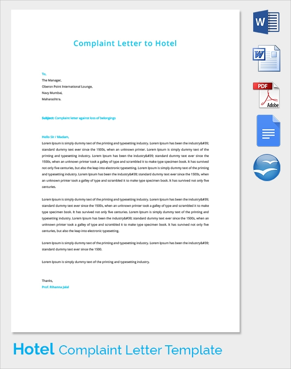 Banks Complaint Template Letter: Bank Request Letter, Complaint Letter ...