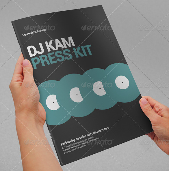 11 press kit templates to download