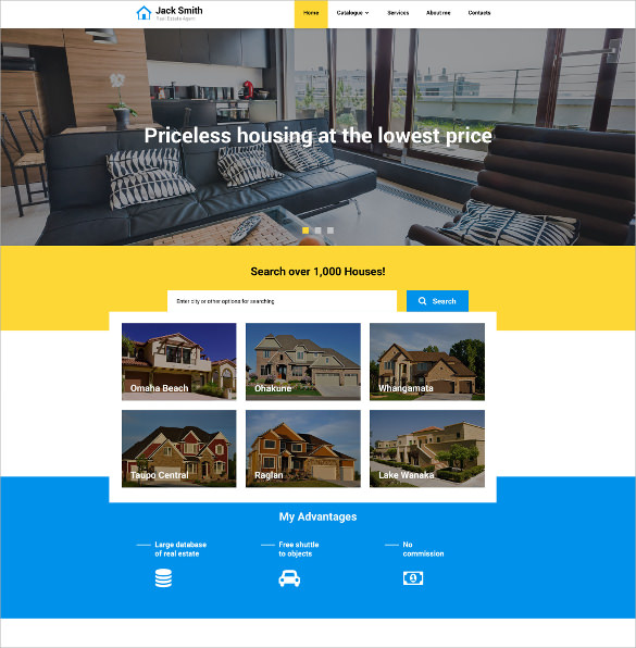 22   Realtor Website Themes   Templates Sample Templates VV2CwWO4