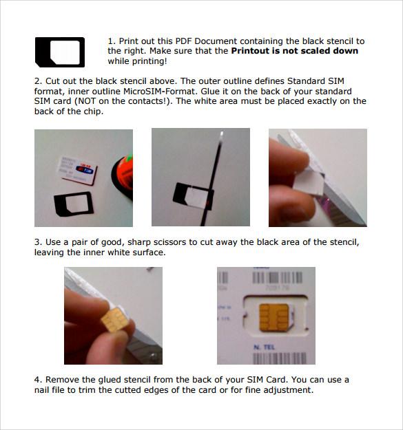micro sim template cutter