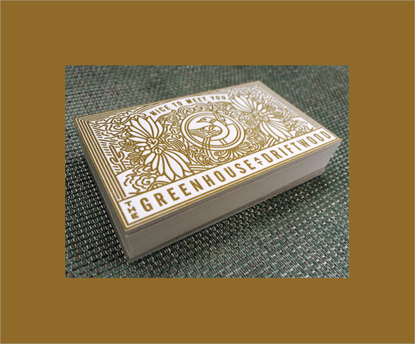 Stunning Examples Of Letterpress Business Cards   Download