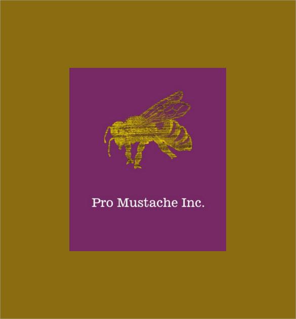 standard letterpress business card