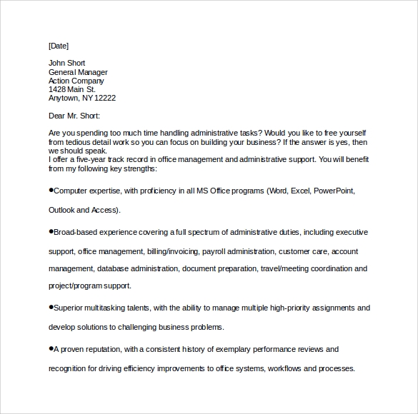 Sample executive assistant cover letter 9 download free cover letter for executive assistant altavistaventures