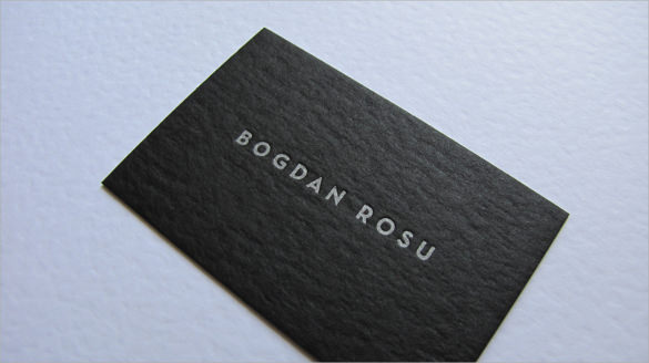 premium letterpress business card - Letterpress Business Cards