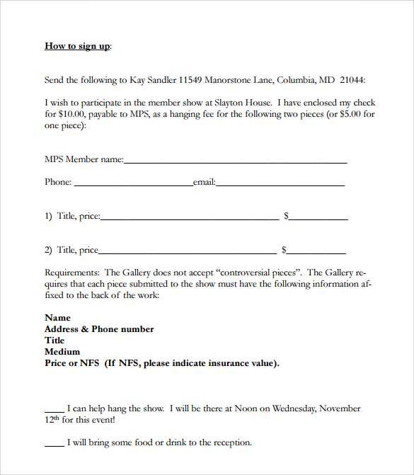 Doc538416 Sample Open House Sign in Sheet Template 25 best – Sample Event Sign in Sheet Template
