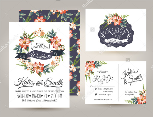 invitation design template to download