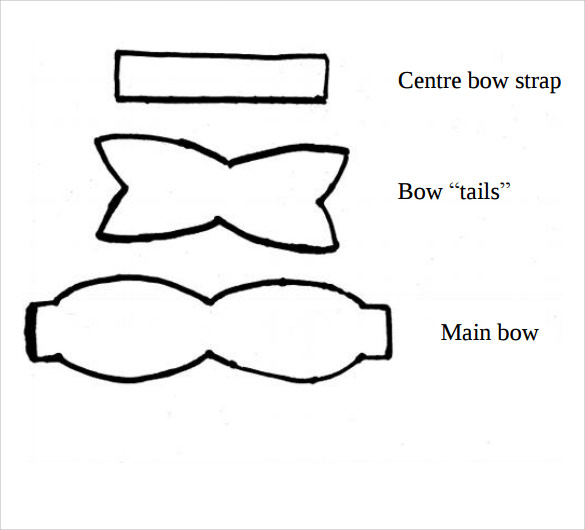 bow template sample