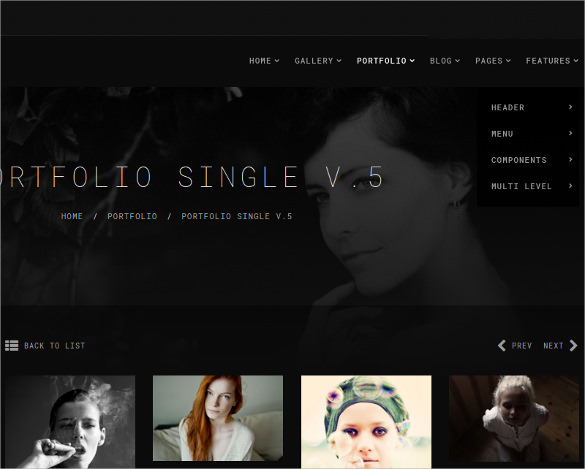 Best Photographer Website Templates All About Template Q01TAEAo