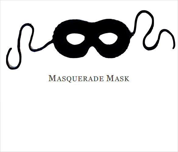 17  amazing masquerade mask templates