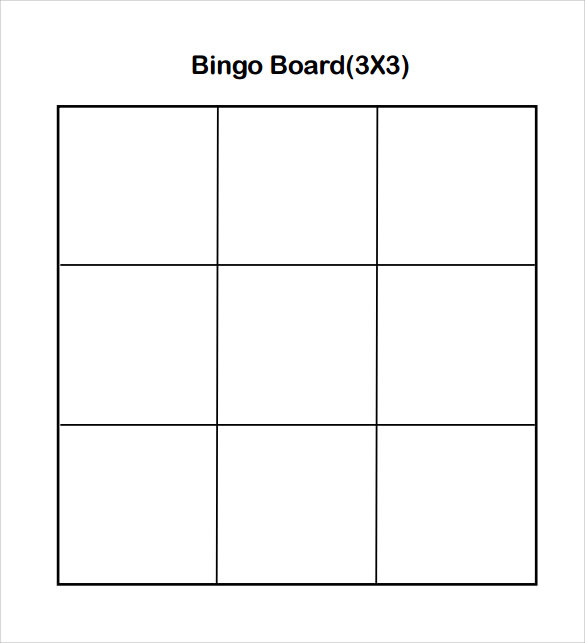 sample number bingo card download free