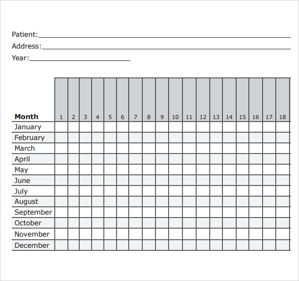 graphic relating to Menstrual Calendar Printable known as Menstrual Calendar - 11+ Totally free Samples , Illustrations Structure