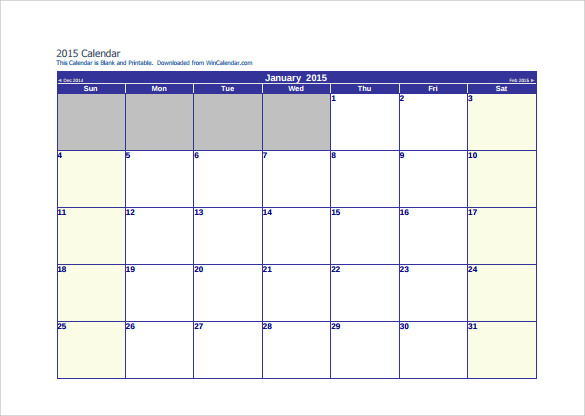 7 Sample 3 Month Calendar Templates To Download Sample Templates