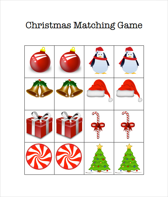 christmas games example