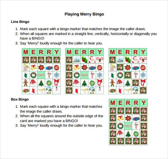 christmas games pdf