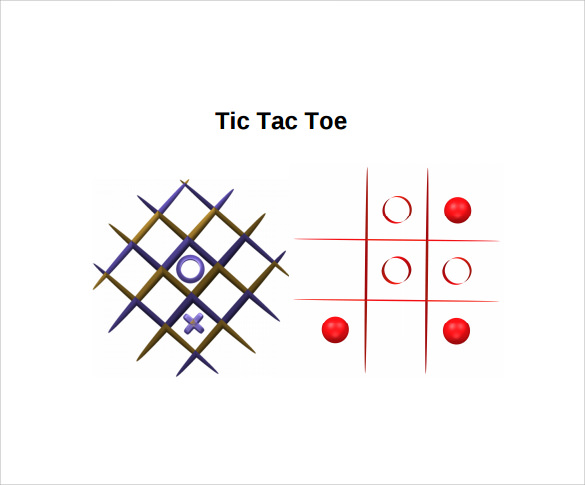 Tic Tac Toe Template Powerpoint Quantumgaming