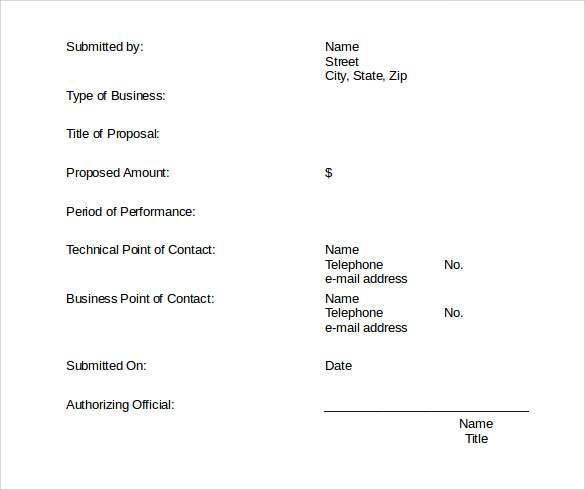 download contract proposal template
