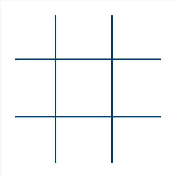 Image result for tic tac toe template