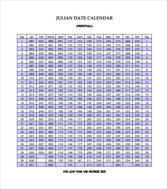 Printable Julian Calendar | Search Results | 2016 Calendar Printable ...