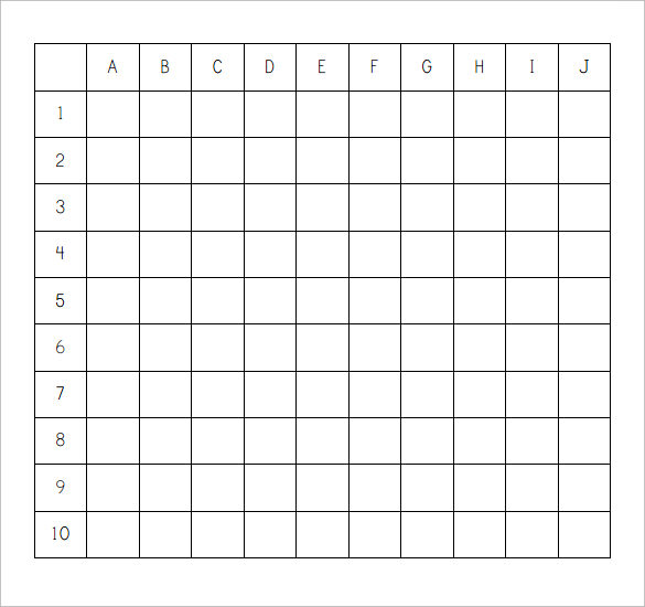 Sample Battleship Game    Documents In Pdf